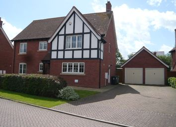 Thumbnail 5 bedroom detached house to rent in Wychwood Park, Weston, Crewe, Cheshire