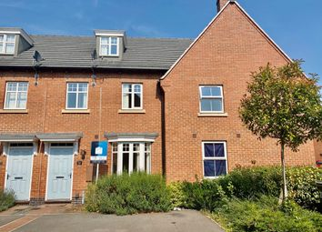 Thumbnail 3 bed town house for sale in Crowson Drive, Quorn, Leicester LE12 8Fa