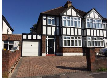 Thumbnail 3 bedroom semi-detached house for sale in Manor Road North, Wallington
