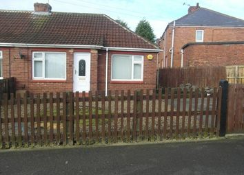 Thumbnail 1 bed bungalow to rent in Derwent Road, Ferryhill