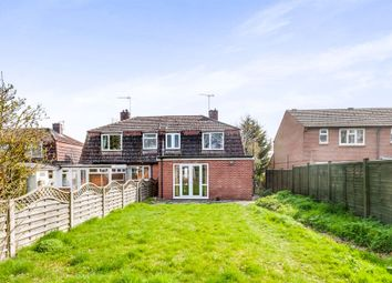 Thumbnail 3 bed semi-detached house for sale in Moreton Road, Aston Upthorpe, Didcot