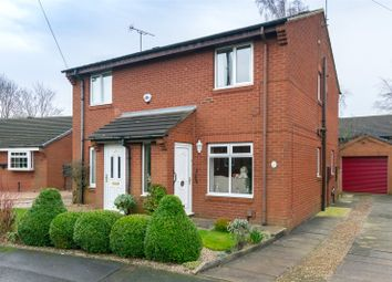 Thumbnail 2 bed semi-detached house for sale in Swallow Drive, Leeds, West Yorkshire