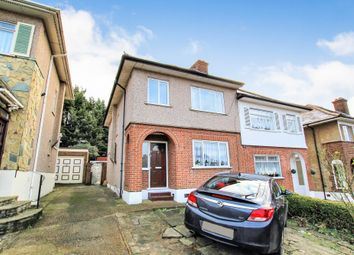 Thumbnail 4 bedroom semi-detached house for sale in Kingshill Avenue, Collier Row, Romford