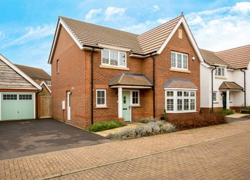 Thumbnail 4 bedroom detached house for sale in Hereford Way, Royston