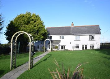 Thumbnail 5 bed detached house for sale in North Petherwin, Launceston