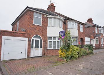 Thumbnail 3 bed semi-detached house for sale in New Way Road, Leicester