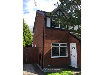 Thumbnail 2 bed semi-detached house to rent in Salford, Greater Manchester