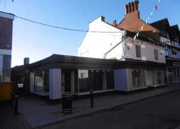 Thumbnail Retail premises to let in 10 Green End, Whitchurch, Shropshire