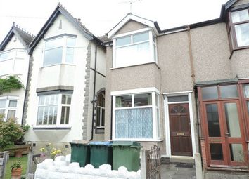 Thumbnail 2 bedroom terraced house to rent in Moor Street, Earlsdon, Coventry, West Midlands