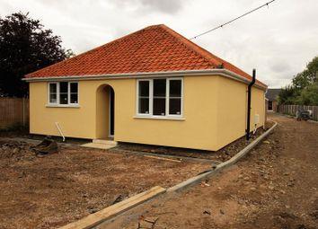 Thumbnail 2 bed detached bungalow for sale in Yaxham Road, Dereham, Norfolk