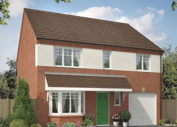 Thumbnail 4 bed detached house for sale in Lapwing Place, Stafford