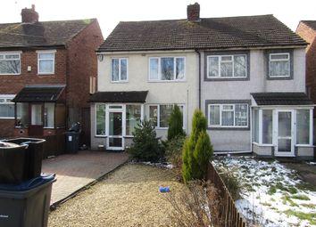 Thumbnail 3 bed semi-detached house for sale in Bromford Lane, Washwood Heath, Birmingham
