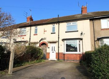 Thumbnail 3 bed terraced house for sale in Crichton Avenue, York