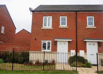 Thumbnail 2 bed semi-detached house for sale in Rhodfa Delme, Llanelli