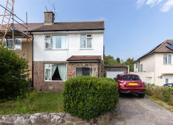 Thumbnail 3 bed semi-detached house for sale in Bishop Manor Road, Bristol