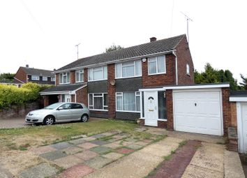Thumbnail 3 bed semi-detached house to rent in Brampton Rise, Dunstable
