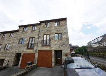 Thumbnail 3 bed town house for sale in Calton Road, Long Lee, Keighley