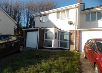 3 bed semi-detached house to rent in Polgover Way, St. Blazey, Par, Cornwall PL24