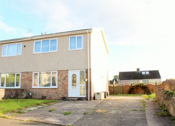 Thumbnail 3 bed semi-detached house for sale in Fford Talfan, Garden Village, Gorseinon