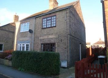 Thumbnail 2 bed semi-detached house for sale in Bourne Road, Alford, Lincolnshire