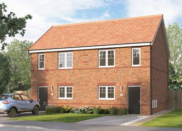 "Thumbnail 2 bed end terrace house for sale in ""The Beckbridge End"" at Myton Green, Europa Way, Warwick"