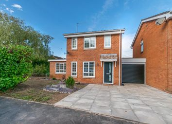 Thumbnail 4 bed link-detached house for sale in Berkeley Close, Redditch