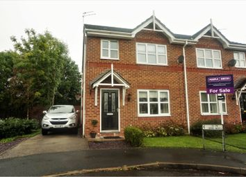 Thumbnail 3 bed semi-detached house for sale in Millbrook Close, Winsford