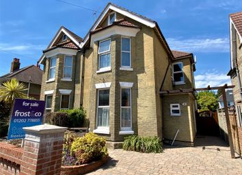 Thumbnail 5 bed semi-detached house for sale in Balmoral Road, Poole, Dorset