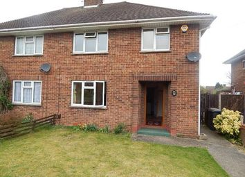 Thumbnail 3 bed semi-detached house to rent in Roman Road, Luton