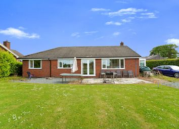 Thumbnail 4 bedroom detached bungalow for sale in Maesbury Marsh, Oswestry, Shropshire