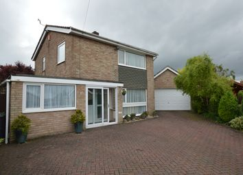 Thumbnail 3 bed detached house for sale in Winchester Drive, Washingborough