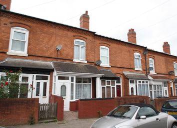 Thumbnail 3 bedroom terraced house to rent in Woodstock Road, Birmingham