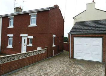 Thumbnail 3 bed semi-detached house for sale in Burnett Crescent, Kelloe, Durham