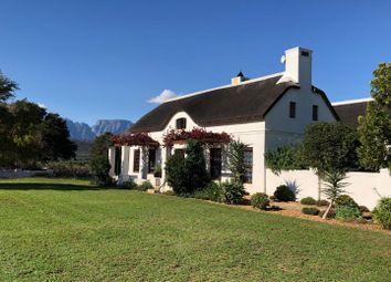 Thumbnail Detached house for sale in South Africa, Franschhoek, Deltacrest