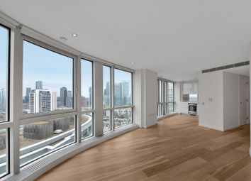 Thumbnail 1 bed flat for sale in Ontario Tower, New Providence Wharf, London