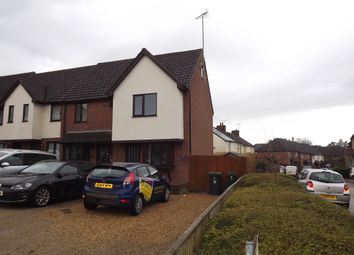 Thumbnail 2 bed end terrace house for sale in Stoney Common Road, Stansted