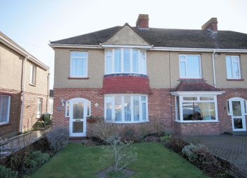 Thumbnail 3 bed end terrace house for sale in Cranleigh Road, Fareham