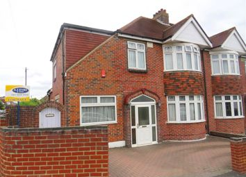 Thumbnail 4 bed semi-detached house for sale in Widley Road, Cosham, Portsmouth