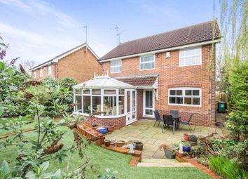 Thumbnail 4 bedroom detached house for sale in Bostock Close, Elmesthorpe, Leicester