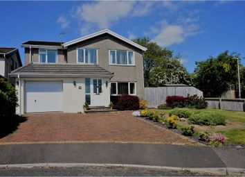 Thumbnail 4 bed detached house for sale in Gwaun Coed, Bridgend