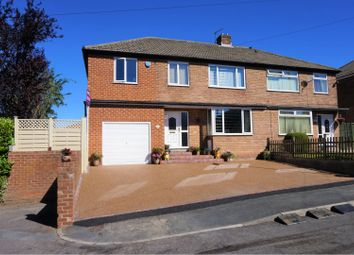Thumbnail 4 bed semi-detached house for sale in Woodlands End, Lepton