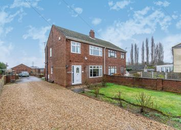 Thumbnail 3 bedroom semi-detached house for sale in Station Road, Burringham, Scunthorpe