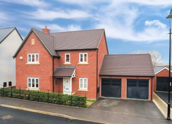 Thumbnail 4 bed detached house for sale in Sorrel Crescent, Wootton, Northampton