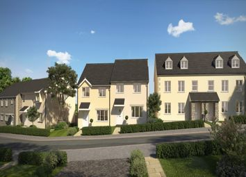 Thumbnail 4 bed semi-detached house for sale in Treskerby Woods, Treskerby, Scorrier Road, Redruth
