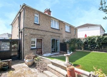 Thumbnail 3 bed semi-detached house for sale in Queens Road, Parkstone, Poole, Dorset