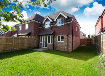 Thumbnail 3 bed semi-detached house for sale in Swan Close, Ashington, Pulborough
