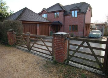 Thumbnail 4 bed detached house for sale in Coronation Road, Swanmore
