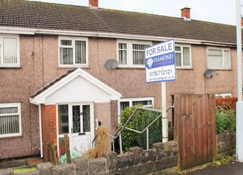 Thumbnail 4 bed terraced house for sale in Caernarvon Way, Boneymaen, Swansea