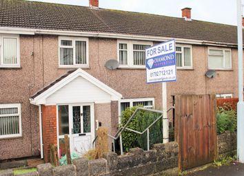 Thumbnail 4 bed terraced house for sale in Caernarvon Way, Boneymaen, Swansea