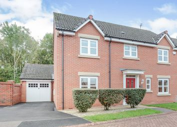 Thumbnail 4 bedroom detached house for sale in Barleyman Close, Hamilton, Leicester